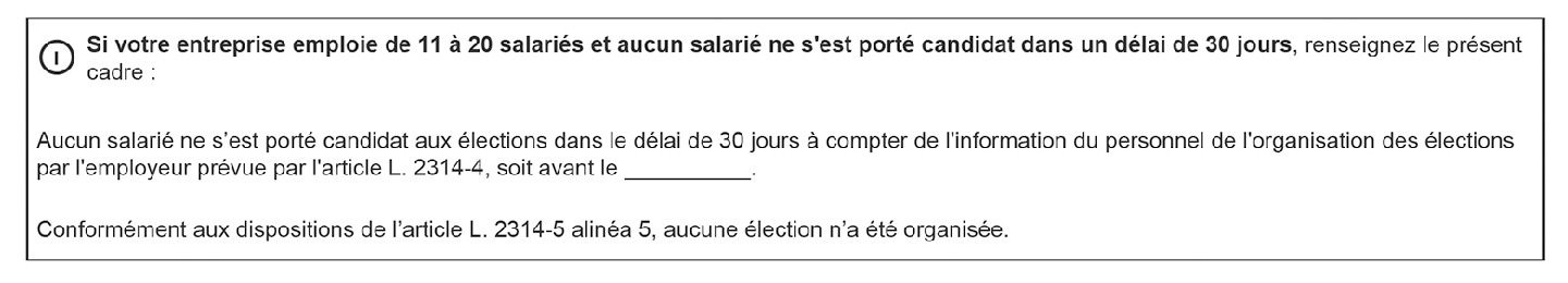 Gerer L Absence De Candidat Aux Elections Professionnelles Dans Les